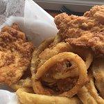 Yummy chicken snack
