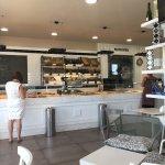 Pandolce 1 agosto 2017: gustosa colazione al tavolo in relax 👍🏻