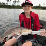 "Will's landed this healthy 23"" Redfish."