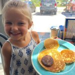 We love our Mickey Mouse pancakes at DJ's diner!