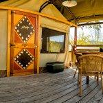 Safari Tent Deck