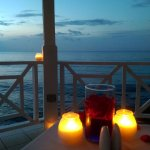 5-course candlelight dinner in the gazebo