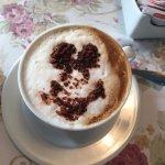 Cappucino for breakfast