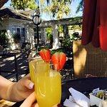 Mimosas and al fresco dining