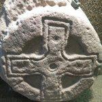 Rosemarkie, Groam House Museum, pierre picte