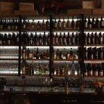 Behind the bar at Brix