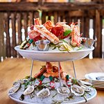 The Yacht, one of our Seafood Platter selections