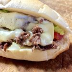 Steak and cheese. Roll was very fresh
