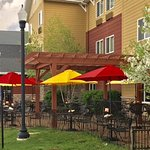 Outdoor seating available at our 17th Street Grill Restaurant.