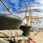 STAR OF INDIA, San Diego! World's oldest active iron-hull merchant sailing Tallship(built 1863)