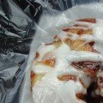 Cinnamon Bun was delish!!!