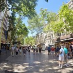 A peaceful stroll through nearby Las Ramblas