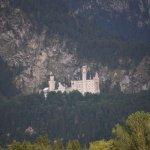 Neuschwanstein Castle from Hotel Christine
