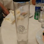 refillable water bottle costing €2.50