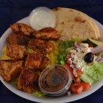 Chicken Shish Kebab Plate