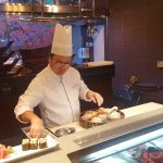 The Chef counter