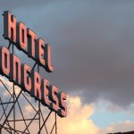 The Famous Hotel Congress Sign
