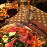 Pizza Roquette & St Marcelin