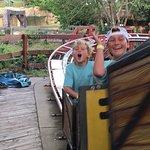Fun in the amusement park
