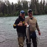 Don and Jimmy with a Sockeye