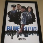Blue Bloods poster showing Donnie Wahlburg