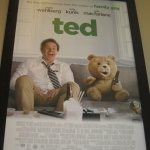 Ted poster, showing Mark Wahlburg