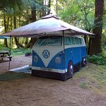 Tent VW which you can rent.