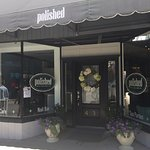 Polished is located in downtown CDA on E. Sherman Ave. between 4th and 5th Street.