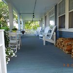 Front porch with lots of room to sit!