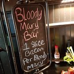Make your own Bloody Mary.