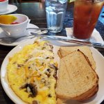Crab and Shrimp omelet.......Yummy!!