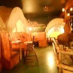 Wagon dining room