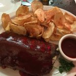 Pork Ribs with Saratoga Chips