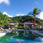 Cadlao 2 Extension rooms are: Pool view, Seafront bungalow and Family Bungalow