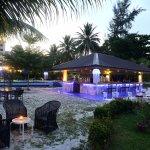 Pool Side & Ocean's Bar Area