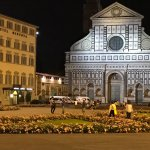 Piazza Santa Maria Novella (Grand Hotel Minerva is the building on the left of the church)
