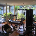 Ample, convenient fitness facility in garden villas