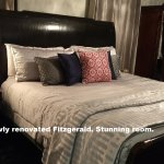 Fitzgerald is a beautiful first-floor room. Newly renovated following Hurricane Matthew.