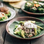 Crunchy Grain Salad with Poached Egg