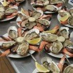 Assiette de la mer (4Huitres , 4 Moules , 4 Crevettes)