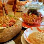 Ensalada de temporada y otros platos a elegir