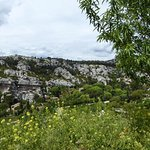 View from Les- Baux hill top village