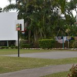 Basketball Court and Outdoor Cinema