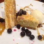 lemon cheesecake - so good!