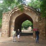 Gate way at Qutb Minar.