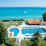 Panoramic Sea Views From The Beloved Pella Beach Family Hotel