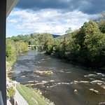 A beautiful Tuckasegee River view from your balcony.