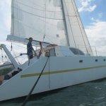Nouveau bateau , toujours rapide mais plus confortable...