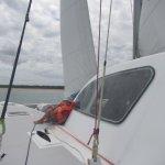 Navigation en toute sécurité avec un skipper expérimenté...