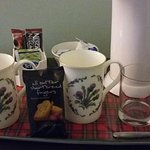 tea and coffee tray in all rooms